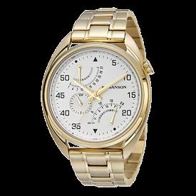로만손 남성 메탈 시계 (RWTMFM5A0100GOSI0)