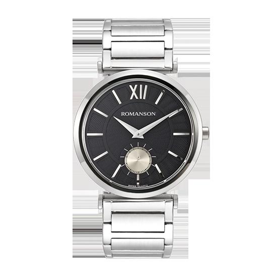 로만손 남성 메탈 시계 (RWTMFM003238CDBK0)
