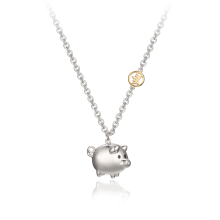 J Golden Pig Kids Necklace