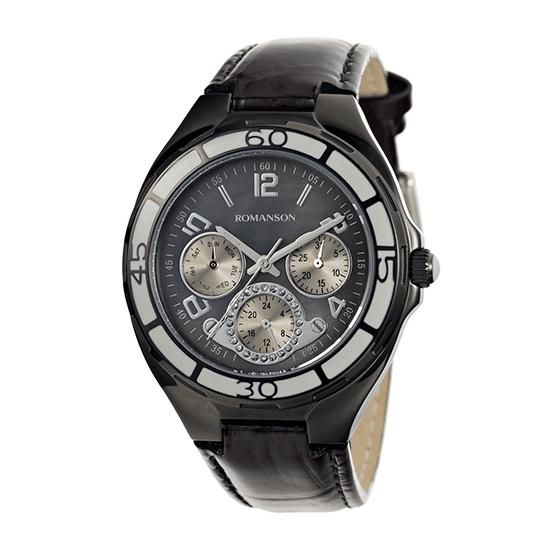 [라스트피스] 로만손 여성 가죽 시계 (RWRLUU000357BKBK0)