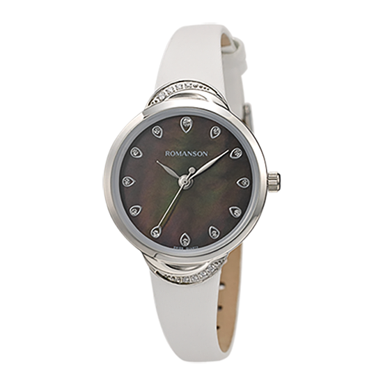 [라스트피스] 로만손 여성 가죽 시계
