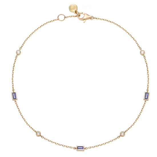 J Basic Anklet(14K) (JJJBAQ9AS731R4230)