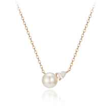 Verona Perlina Necklace(14K)