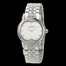 로만손 엘베 다이아몬드 여성 메탈 시계