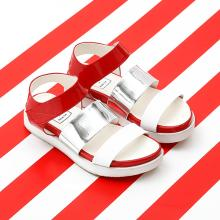 J.ESTINA RED×RACHEL COX_Pointed Band Sporty Sandal Red