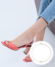 J Basic Anklet(14K) (JJJBAQ9AS779R4230)