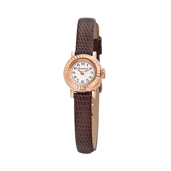 로만손 프리미어 여성 가죽 시계 (RWPBLL002639RGWH0)
