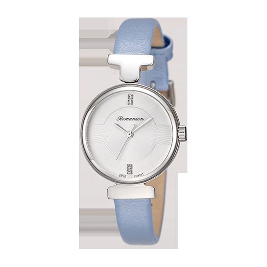 [로만손] 여성 가죽 시계 (RWRLLL6A0500WHSI0)