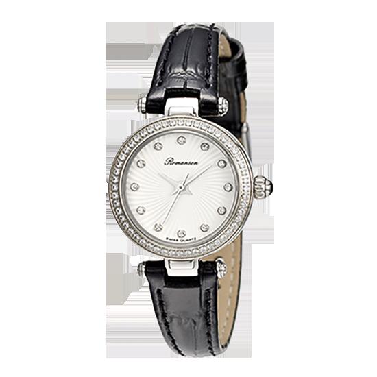 로만손 여성 가죽 시계 (RWRLQL003265WHWH1)