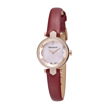 [1월아이템] 로만손 여성 가죽 시계 (RWRLQL6A0400RGPK1)