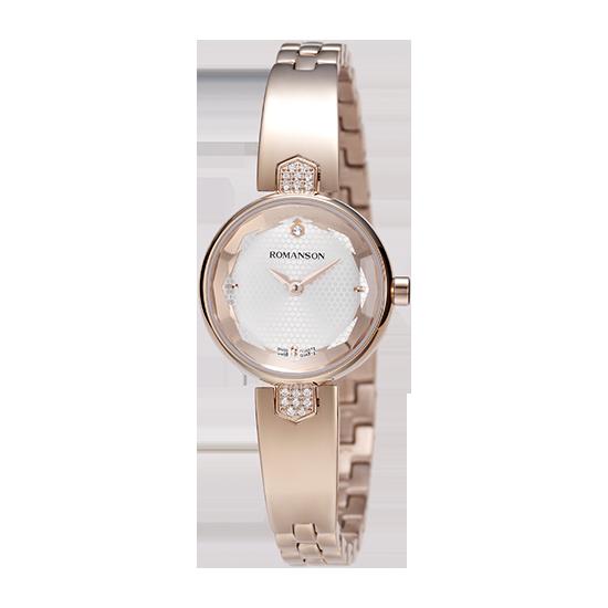 [대한시계] 로만손 여성 메탈 시계 (RWRMQL6A0400RGSI0)