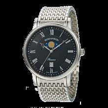 로만손 남성 프리미어 문페이즈 메탈 시계