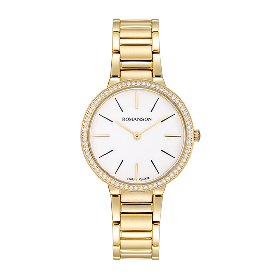 [라스트피스] 로만손 여성 메탈 시계