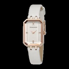 로만손 여성 가죽 시계 (RWRLLL004207RGWH0)