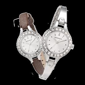 [대한시계][로만손] 여성 메탈 시계 (RWRMTL004243WHSI0)
