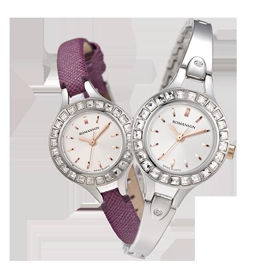 [대한시계][로만손] 여성 메탈 시계(RWRMTL004243CRSI0)