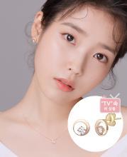 [아이유착장] Mariebel 귀걸이(14K) (JJMBEQ9AF081R4000)