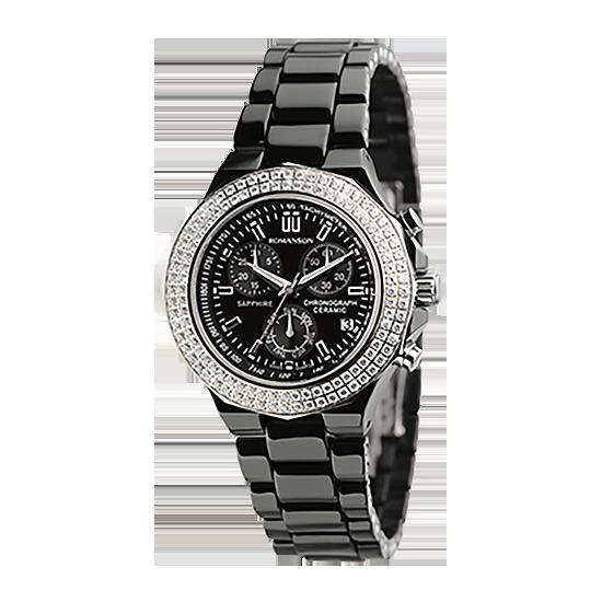 로만손 여성 세라믹 시계 (RWTMQL001231BKBK0)