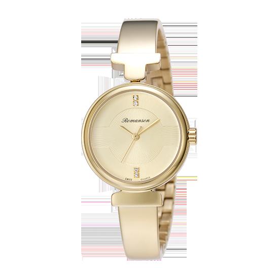 [로만손] 여성 메탈 시계 (RWRMLL6A0500GOGO0)