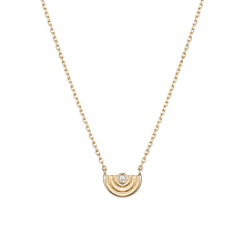 ERGHE Helice Necklace(14K)