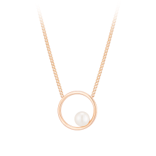 Fpearl White Necklace(14K)