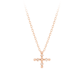 Croce Necklace(14K)
