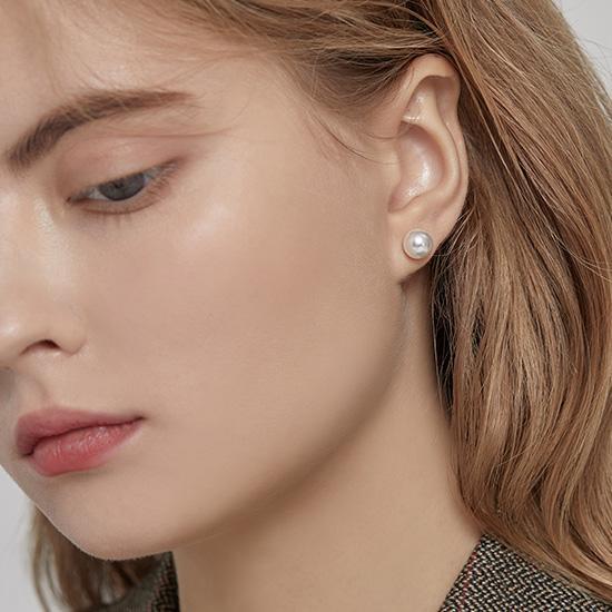 LALA J 귀걸이 (JJPJEI9AF513SR000) - 진주귀걸이 단독 착용 가능!
