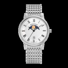 로만손 남성 문페이즈 메탈 시계