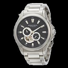 로만손 남성 오토매틱 메탈 시계