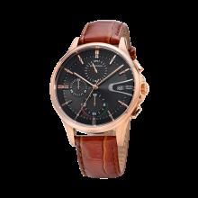 로만손 드아르본 크로노그래프 남성 가죽 시계 (RWCBHM9A0800RGCT0)