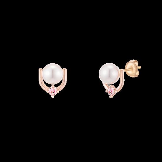 Joelle Perlina Earring(14K) (JJP1EI0BS601R4000)