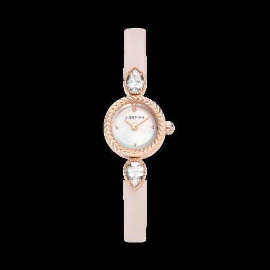 ★아이유 미니북 증정★ U Jewel Leather Watch