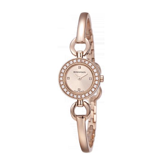 로만손 여성 메탈 시계 (RWRMQL5A1900RGSI0)