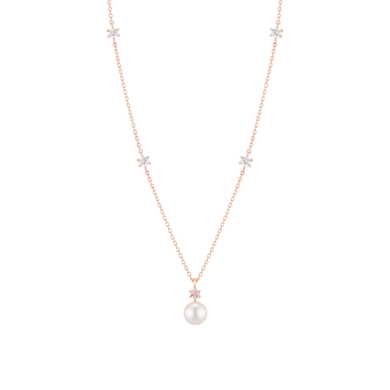 Joelle Perlina Necklace(14K)