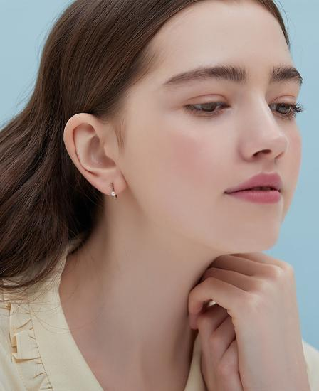 J Basic Earring(14K) (JJJBEI0BS683R4000)