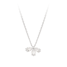 [CONTE] Pear Petal Necklace (JJCENQ0BS906SW420)