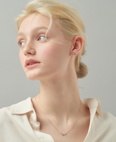 ★베스트 재입고★ [CONTE] Basic Blossom Earring (JJCEEQ0BS905SR000)