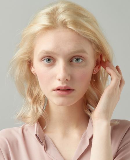 ★베스트 재입고★ [CONTE] Basic Blossom Earring (JJCEEQ0BS903SR000)