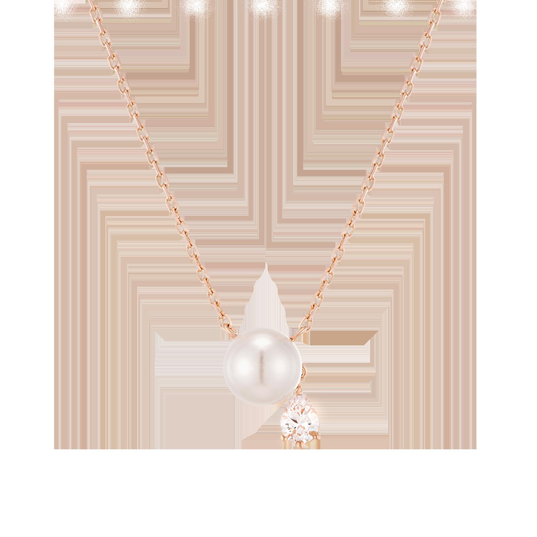 [CONTE] Pear Pearl 목걸이 (14K) (JJCENI0BS907R4420)