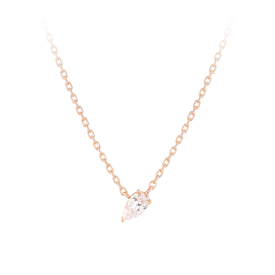 [CONTE] Pear Dew Necklace(14K) (JJCENQ0BS908R4420)