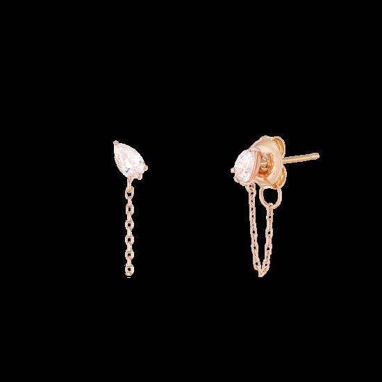 ★콘테 런칭! 구매시 버튼거울 증정★ Pear Dew Earring(14K)