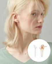 [CONTE] Pear Dew 귀걸이(14K) (JJCEEQ0BS908R4000)