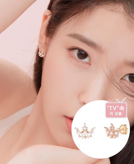 [아이유착장] Lucia Joelle 귀걸이(14K) (JJJOEQ0BS712R4000)