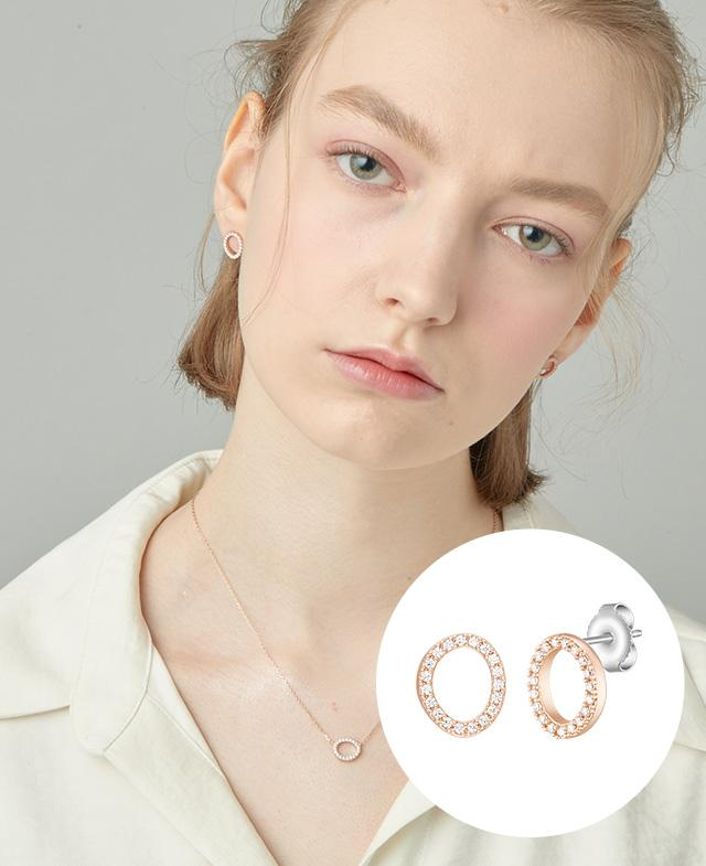 [CONTE] Basic Circle 귀걸이 (JJCEEQ0BS932SR000)