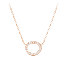 [CONTE] Basic Circle Necklace (JJCENQ0BS932SR420)