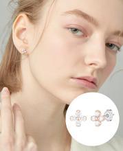 [CONTE] Basic Blossom 귀걸이 (JJCEEQ0BS924SR000)