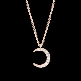 [CONTE] Basic Moon Necklace (JJCENQ0BS927SR420)