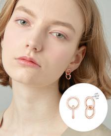 [CONTE] Basic Circle Unit 귀걸이 (JJCEE00BS928SR000)