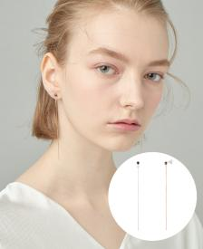 [CONTE] Basic Circle Drop 귀걸이 (JJCEEQ0BS931SR000)