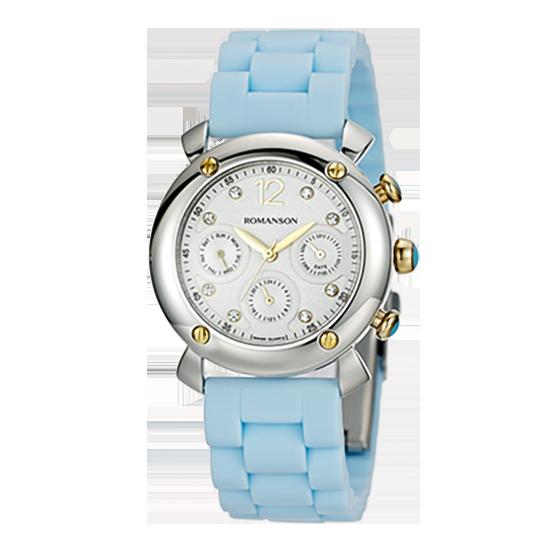 로만손 여성 러버 시계